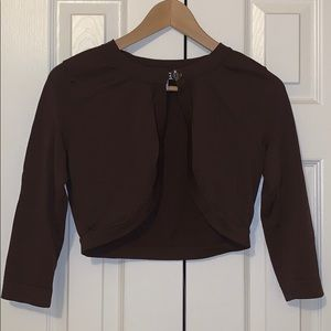 Great condition. Stretchy, Half Sleeve Sweater